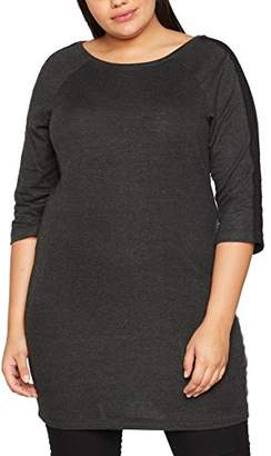 Zizzi Women's Tunic, 3/4 Shirt,(Manufacturer Size: X-Large)