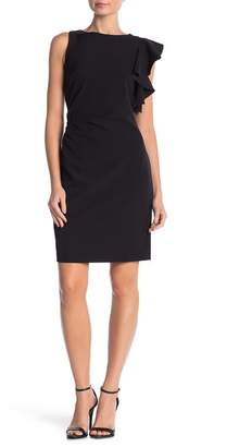 Julia Jordan Sleeveless Asymmetrical Dress