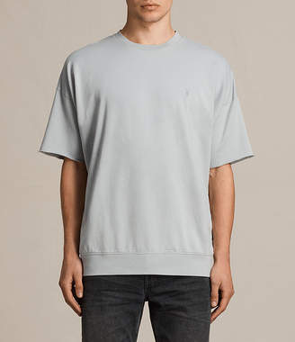 AllSaints Negotum Short Sleeve Crew Sweatshirt