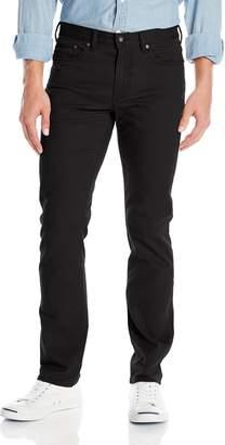 Dockers Jean Cut Slim Fit Pant, Stretch Twill Black, 31x30