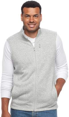 Croft & Barrow Big & Tall Classic-Fit Outdoor Fleece Vest