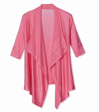 Pink Label Celeste Elbow Sleeve Flyaway Top
