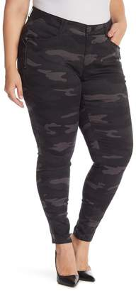 Democracy Tummy Control Camo Print Pants (Plus Size)