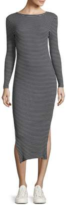 French Connection Women's Striped Cotton Bodycon Dress