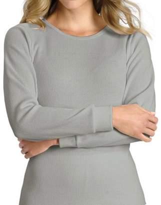 Hanes Women's Plus X-Temp Thermal Underwear Crew Tee