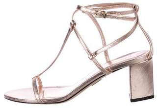 Tamara Mellon Leather Multistrap Sandals