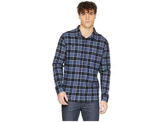 Quiksilver Waterman Cold March Long Sleeve Flannel Shirt
