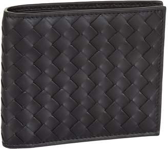 Bottega Veneta Intecciato Weave Leather Bifold Wallet