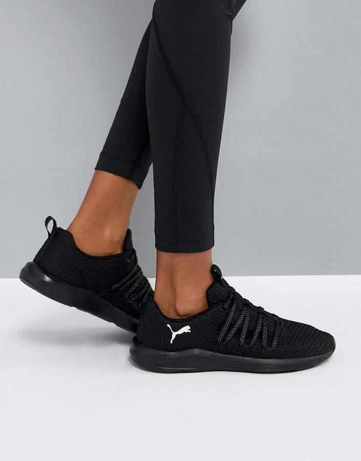 – Prowl Alt – Gewebte Sneaker in Schwarz