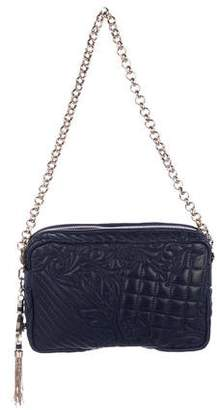 Gianni Versace Quilted Leather Shoulder Bag