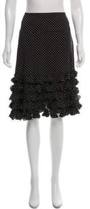Jaeger Silk Knee-Length Skirt