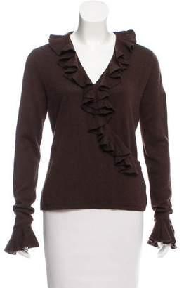 Lauren Ralph Lauren Silk & Cashmere Knit Sweater