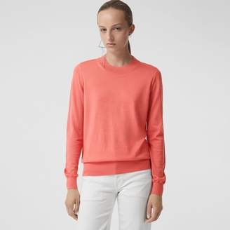 Burberry Merino Wool Crew Neck Sweater