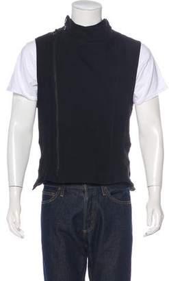 Ann Demeulemeester Wool & Linen Vest