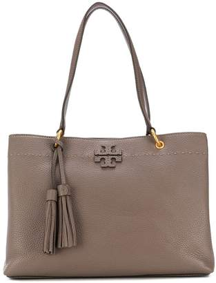 Tory Burch three-compartment McGraw tote bag