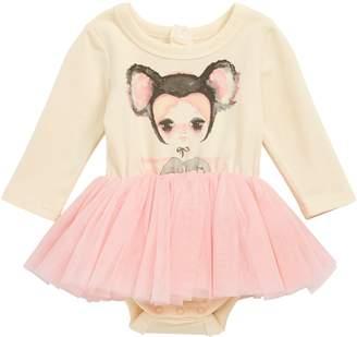Rock Your Baby Koala Belle Circus Tutu Bodysuit
