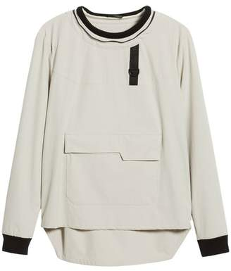 LVLXIII Pullover with Removable Hood