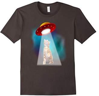 UFO Space Cat T-Shirt - Pet Alien First Contact