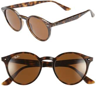 Ray-Ban Highstreet 49mm Round Sunglasses