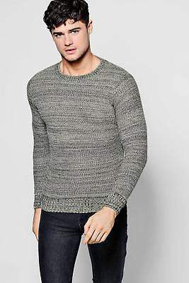 Pullover aus Mischgarn in Khaki größe Xl