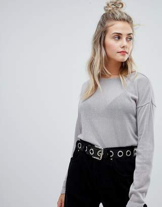Noisy May round neck sweater