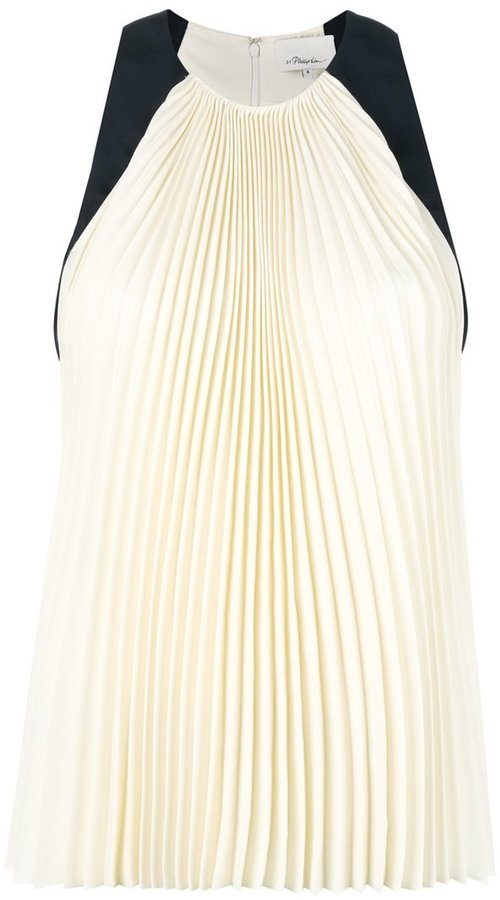 3.1 Phillip Lim 3.1 Phillip Lim sleeveless pleated blouse