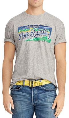 Polo Ralph Lauren Logo Graphic Classic Fit Tee