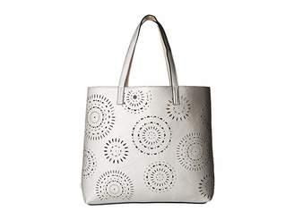 Echo Laser Cut Tote Tote Handbags