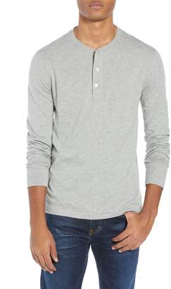 J.Crew Slim Fit Garment Dyed Slub Cotton Henley