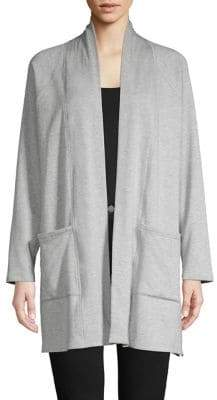 Eileen Fisher Classic Long-Sleeve Cardigan