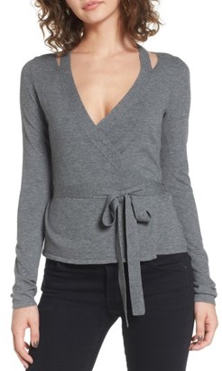 Women's Bailey 44 Glissade Wrap Sweater $178 thestylecure.com