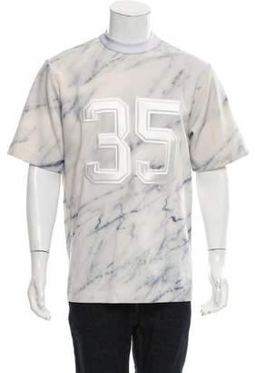 Juun.J Oversize Neoprene T-Shirt