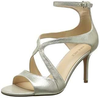 Nine West Women's Gerbera Metallic Heeled Sandal