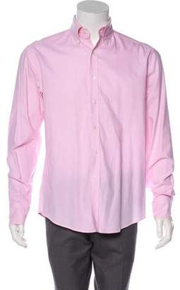 Michael Bastian Woven Button-Up Shirt