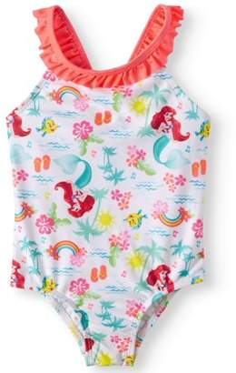 Disney Princess The Little Mermaid One-Piece Swimsuit (Toddler Girls)