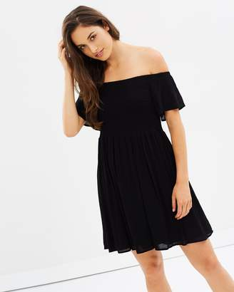 Sass Renata Shirred Bust Dress