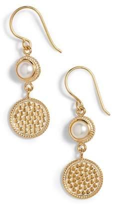 Anna Beck Semiprecious Stone Double Drop Earrings