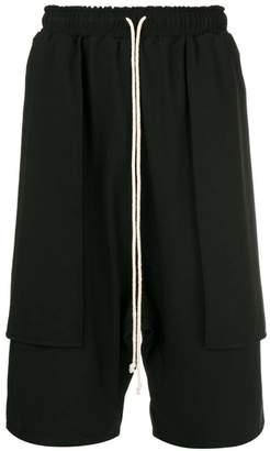 Alchemy drop crotch track shorts