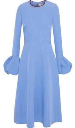 Roksanda Gathered Cady Midi Dress