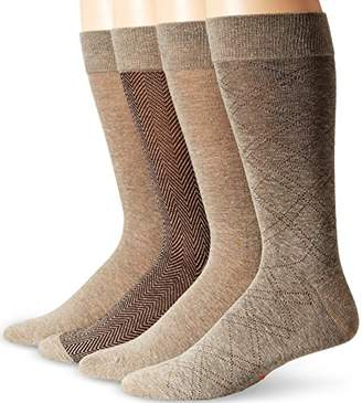 Dockers 4 Pack Herringbone Dress Socks
