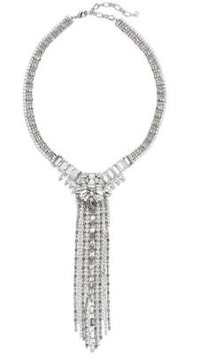 CRISTABELLE Frontal Crystal Strand Necklace