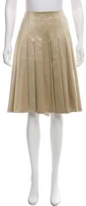 Luciano Barbera Wool-Blend Skirt