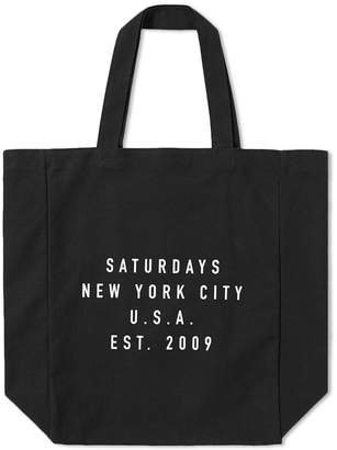 Saturdays NYC Saturdays Establised USA Tote