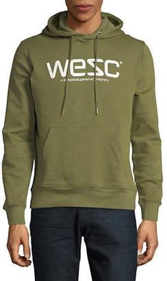 Wesc Logo Cotton Hoodie