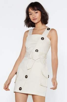 Nasty Gal Utility Cute Mini Dress