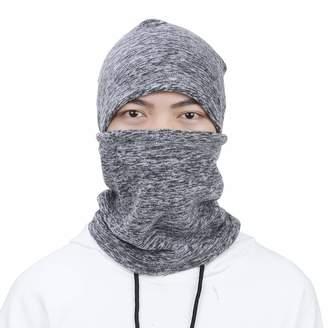 6256aa58a00 EGOGO Windproof Hat Full Face Cover Cap Warm Winter Hat Thermal Fleece Hood Mask  Neck Warmer