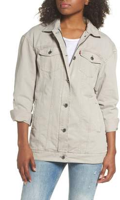 Levi's Oversize Canvas Trucker Jacket