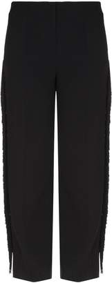 Marina Rinaldi Fringed Trousers