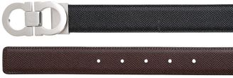 30mm Reversible Grained Leather Belt $273 thestylecure.com