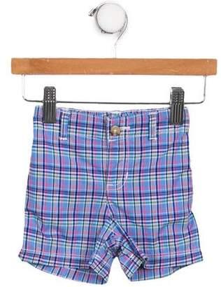 Ralph Lauren Boys' Plaid Print Shorts